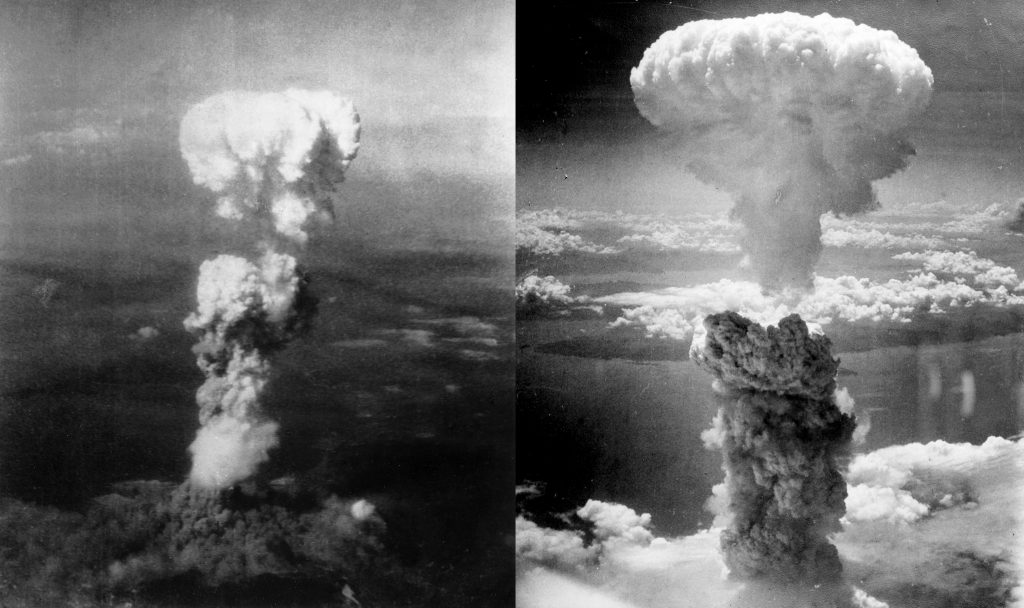 US Drops Atomic Bombs on Hiroshima and Nagasaki