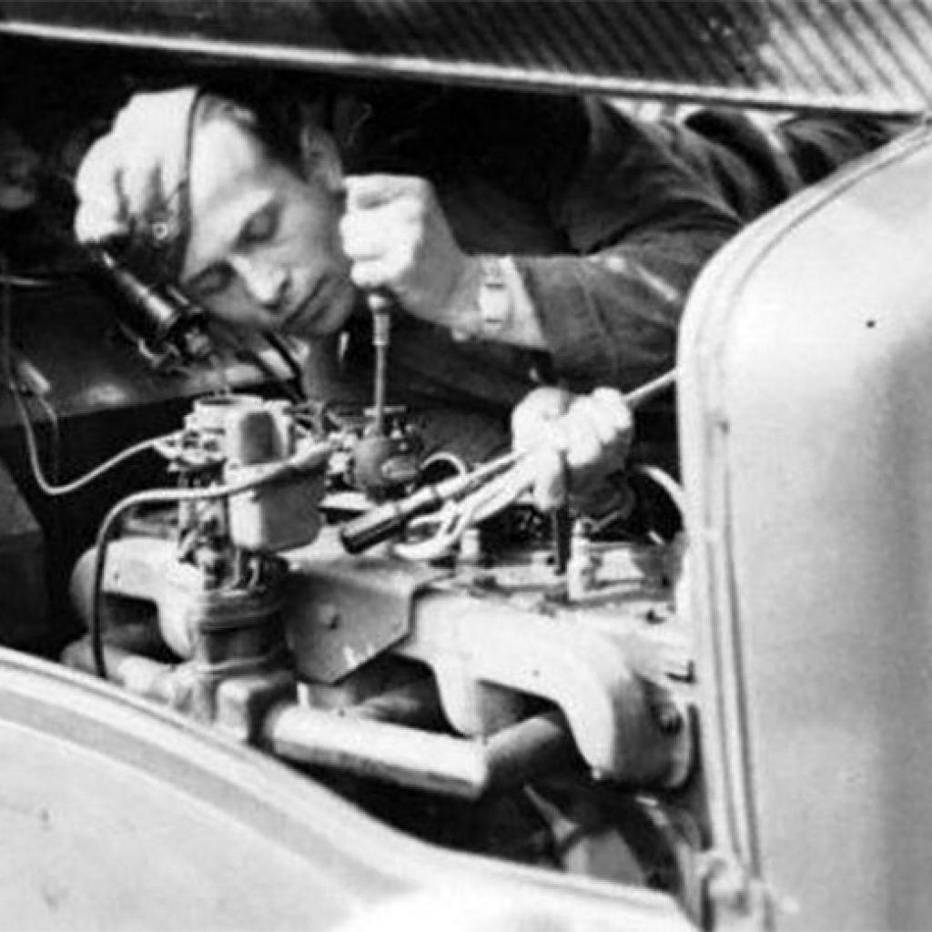 Ernest and the 883rd Establish a Base in Morhange, France